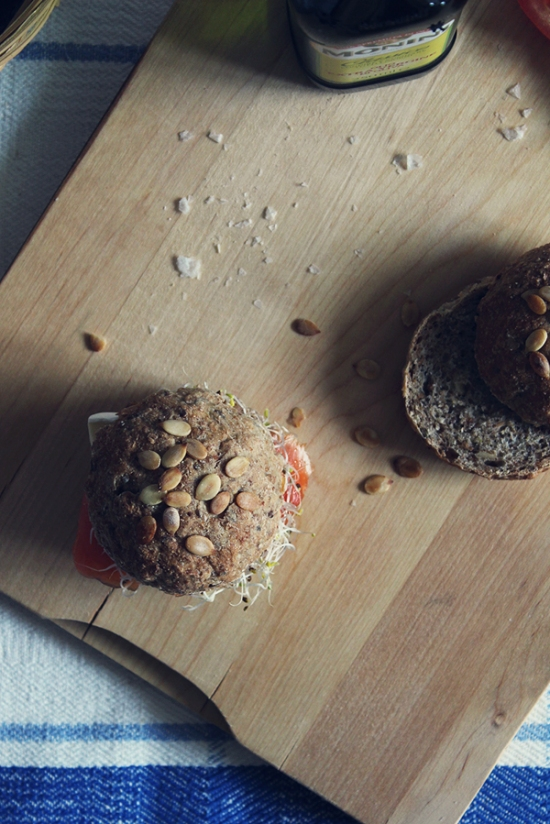 Rye Breakfast Rolls