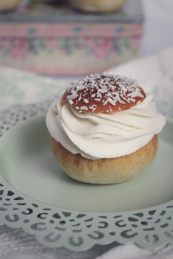 The Swedish Semla, with Chocolate and Coconut