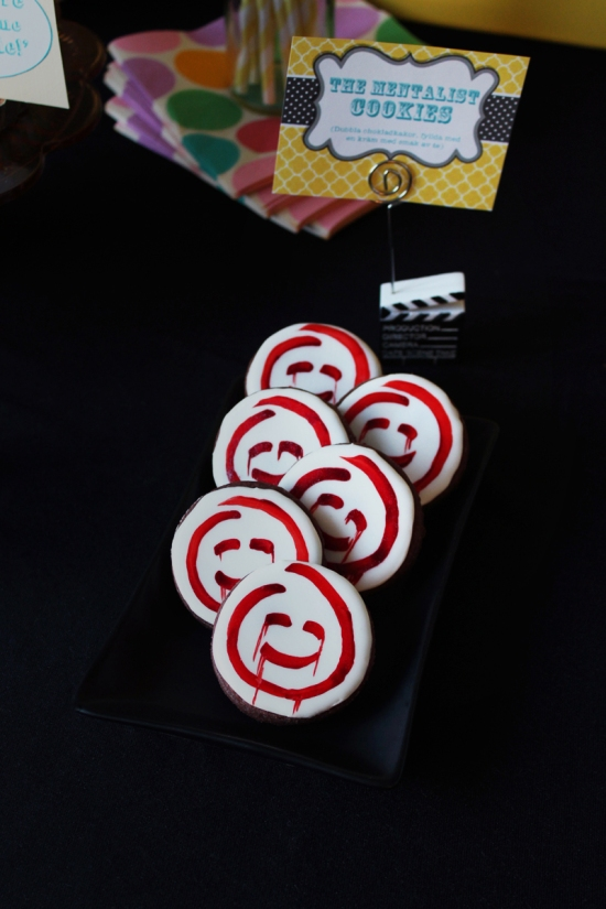 The Mentalist Cookies