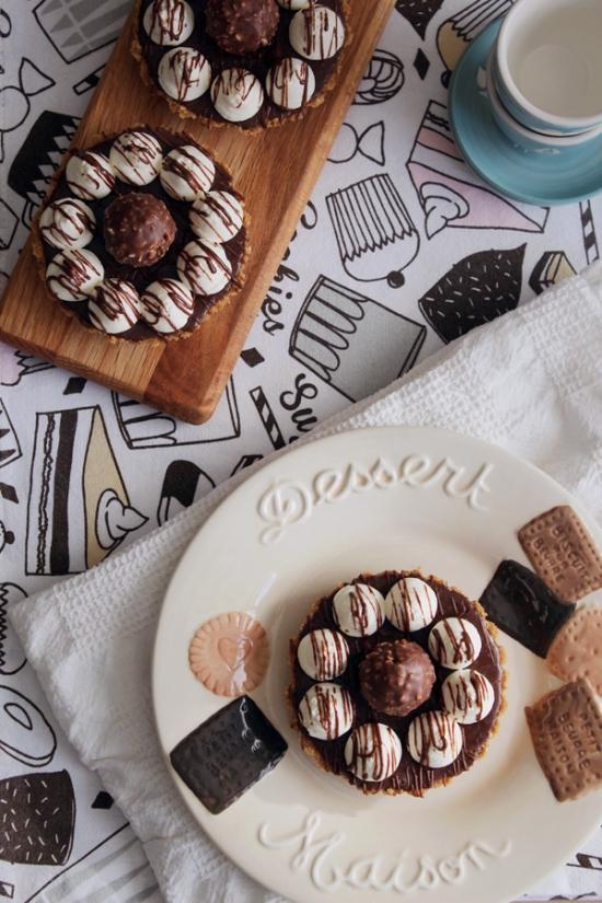 Ferrero Rocher Tarts