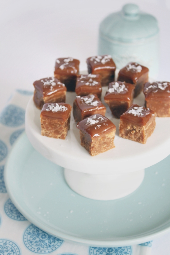 Vanilla Fudge with Dulce de Leche and Sea Salt