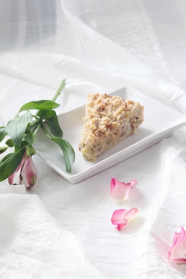 godaste rabarberpajen med mandelmassa